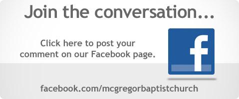 McGregor Facebook Page