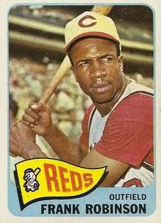 Frank Robinson baseball card