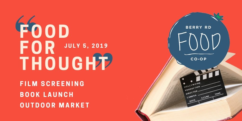 'Food for Thought' Film Screening, Book Launch, Outdoor Market
