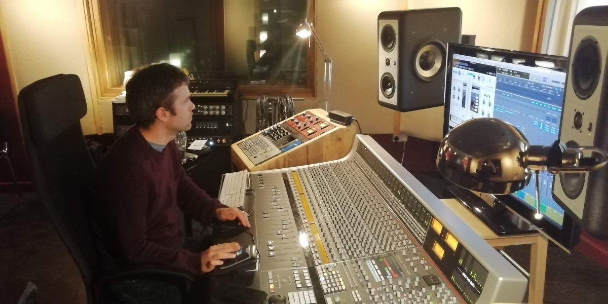 Iain Hutchison mixing