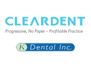 cleardent & k-dental logo