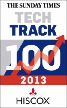 Sunday Times Hiscox Tech Track 100
