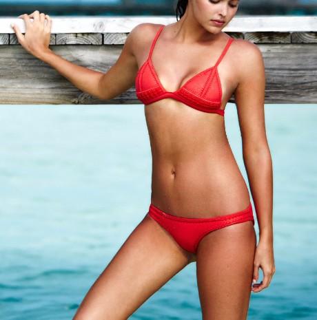 plain bikini