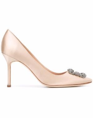 pointed heels manolo blahnik