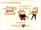 StageWorks Fresno presents A Year with Frog and Toad