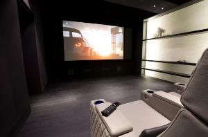 Tela per sale Home Cinema