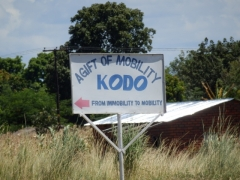 KODO sign