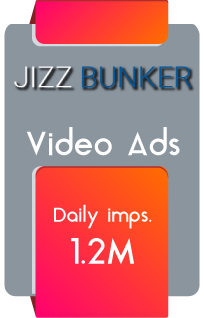 JizzBunker - Video Ads Daily Imps.: 1.2M