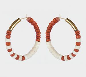 utah-hoop-earrings-brick-red