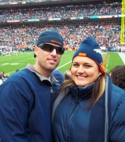 Social Media helped bring them to a Denver Broncos Game