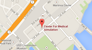 CMS located on Google Map