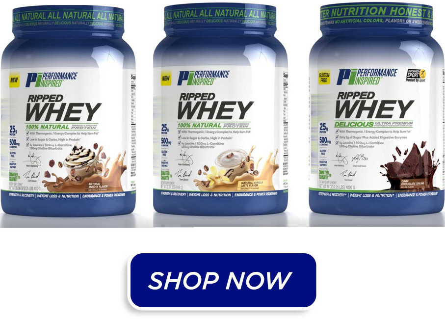 ripped whey energy protein powder
