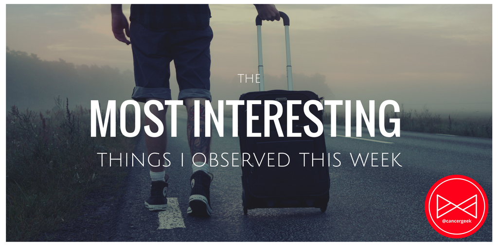 3.25.2018 The Most Interesting Things I Observed This Week