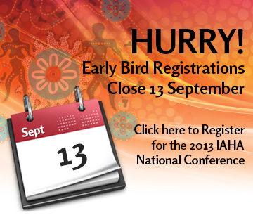 HURRY! Early Bird Registrations Close 13 September. Click here to register.