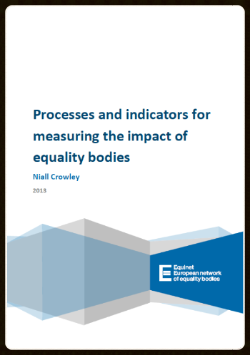 (cover of report on impact of equality bodies)