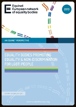 (cover of report on equality bodies and LGBTI persons)