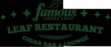 Leaf Cigar Bar, Restaurant and Lounge
