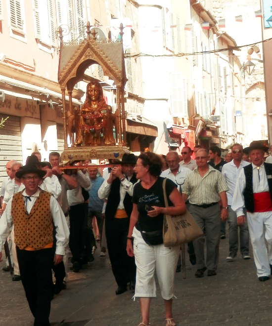 Saint Mary Magdalene Feast Day in Provence