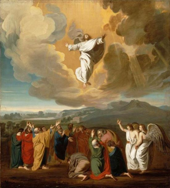 The Ascension by John Singleton Copley, c. 1775
