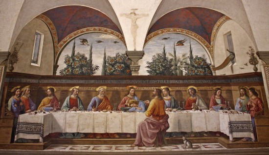 Last Supper in the Upper Room