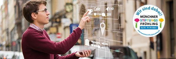 Diskussionsrunde: Digitaler Einzelhandel in der Stadt der Zukunft im Rahmen des MünchnerStiftungsFrühling 2019