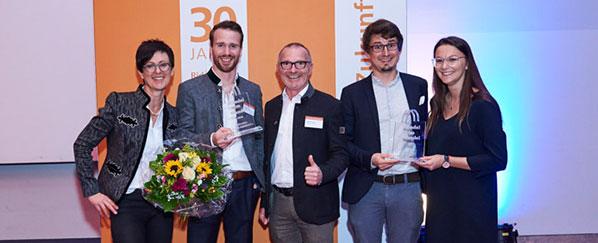 Die Gewinner des Innovationswettbewerbs 'Handel im Wandel 2018'