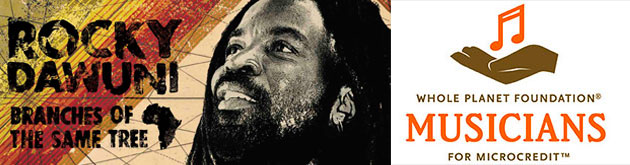 Rocky Dawuni On Tour