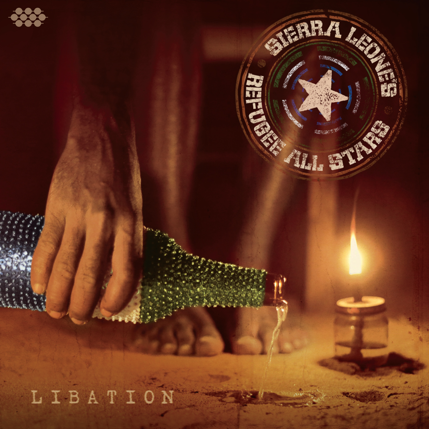 "Sierra Leone's Refugee All Stars ""Libation"" Now Available Worldwide on Cumbancha. http://shop.cumbancha.com/releases/libation.html"