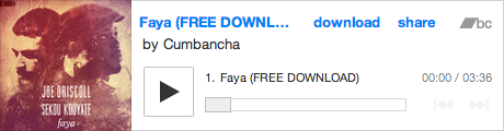 Free track download: http://store.cumbancha.com/album/faya-free-download