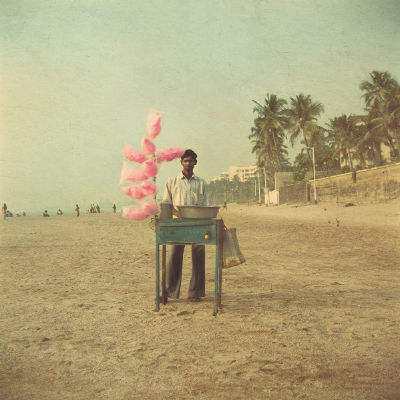 Candyfloss beach by Nadia Attura