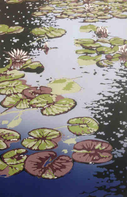 Lily Pond by Alexandra Buckle