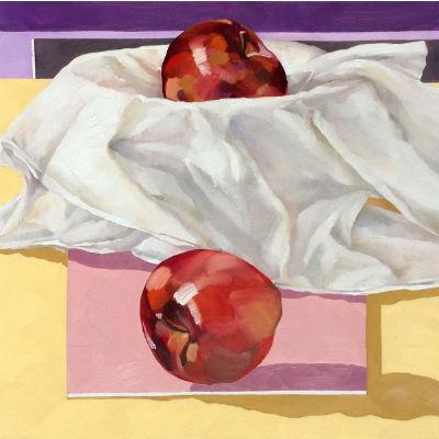'Apples: variation yellow' by Valery Koroshilov
