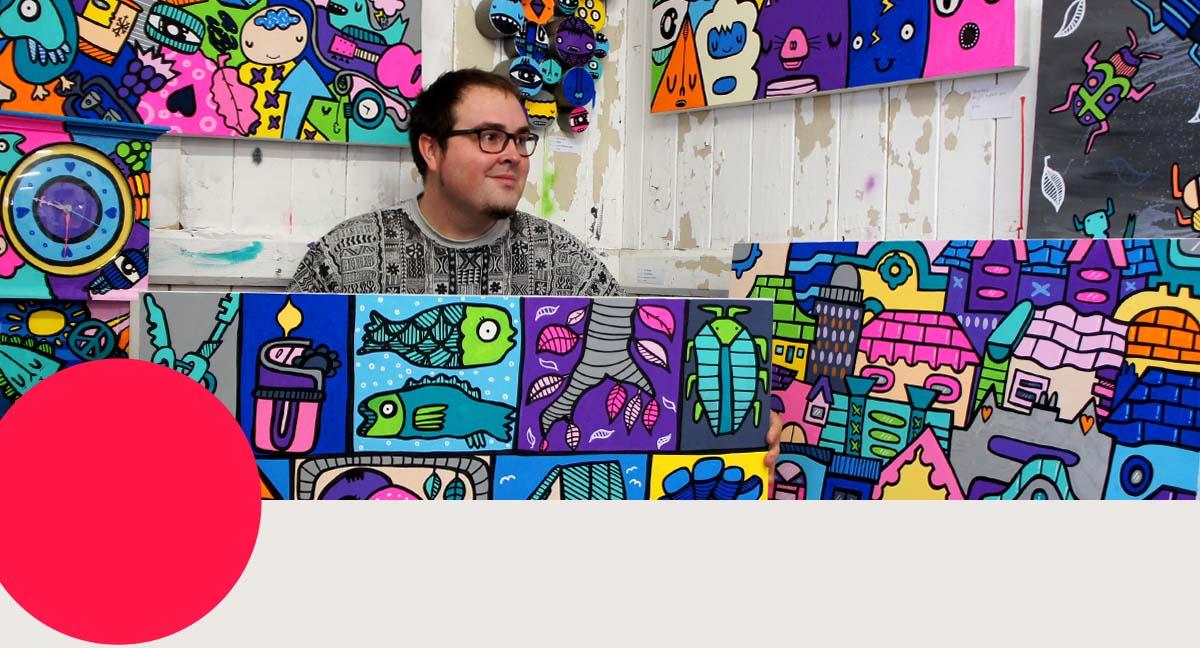 Artfinder meets: Kev Munday