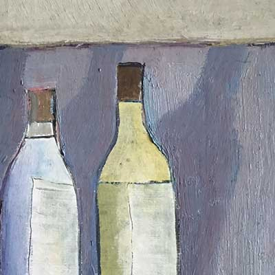 'Four Bottles' by Nigel Sharman