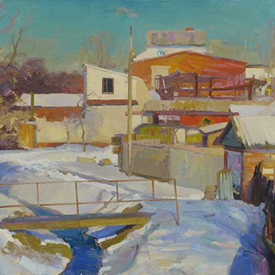 Sunny day by Victor Onyshchenko