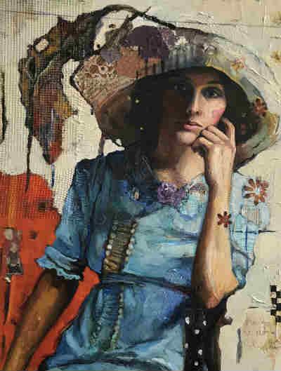 Mercy in big hat by Juliette Belmonte