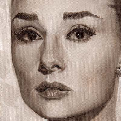 Audrey by Kate Oleska