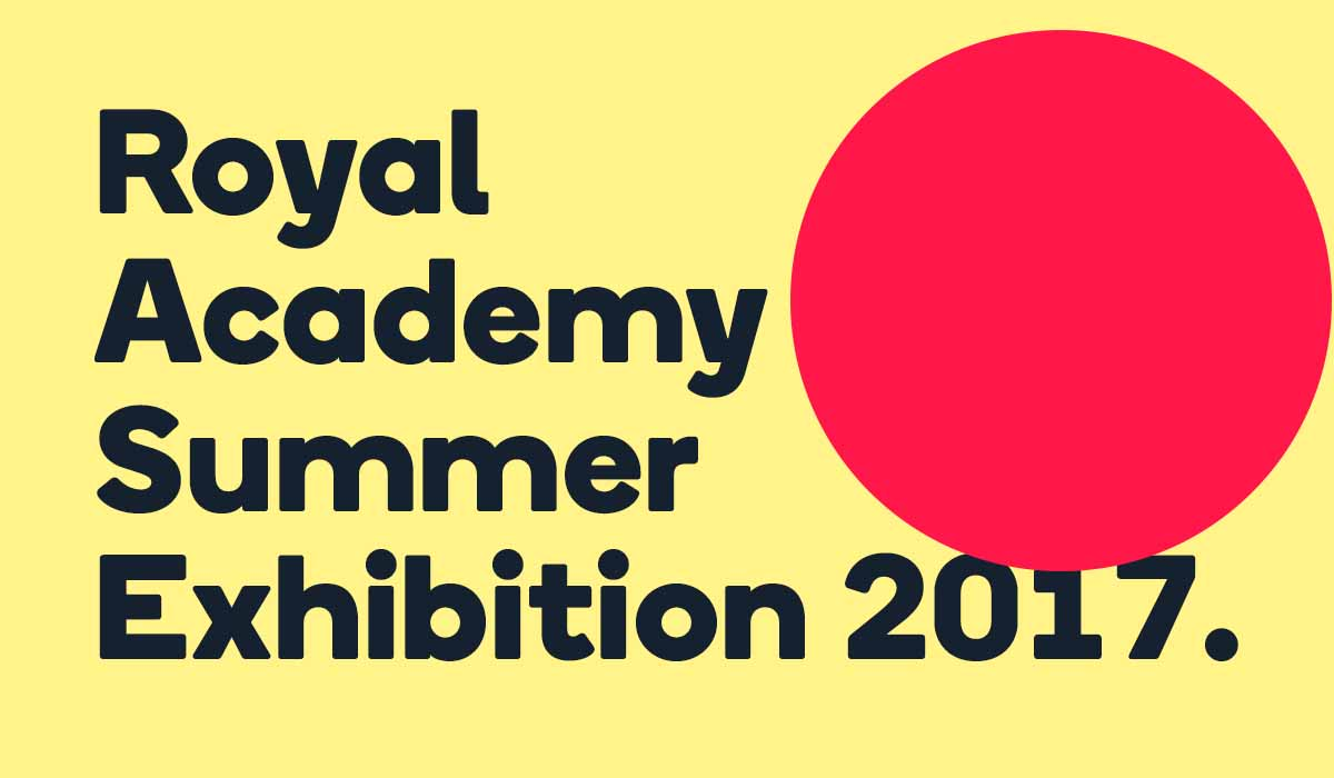The RA Summer Exhibition comes to an end this weekend