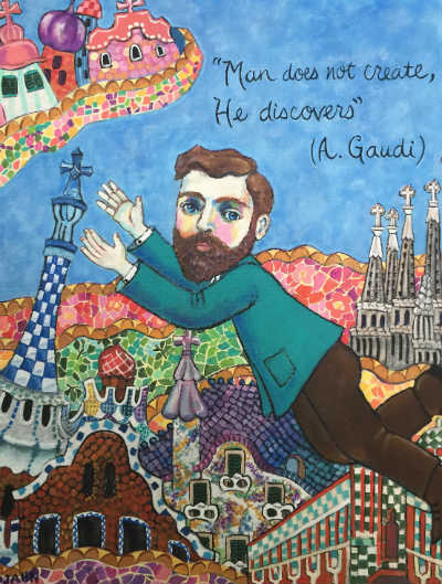 Gaudi's Barcelona by Holly Wojahn