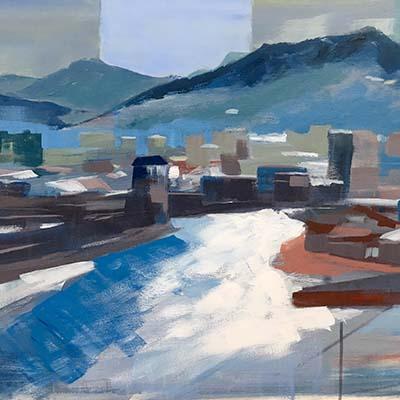 Cityscape by Javier Pena