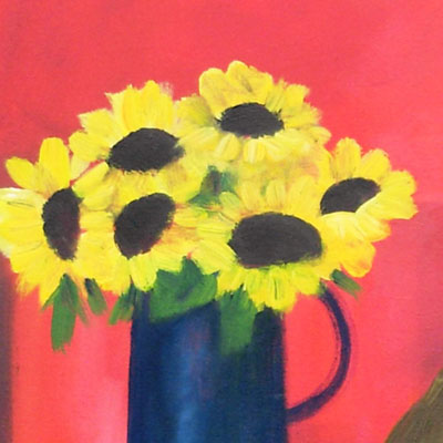 'Still Life with Sunflowers' by Jan Rippingham