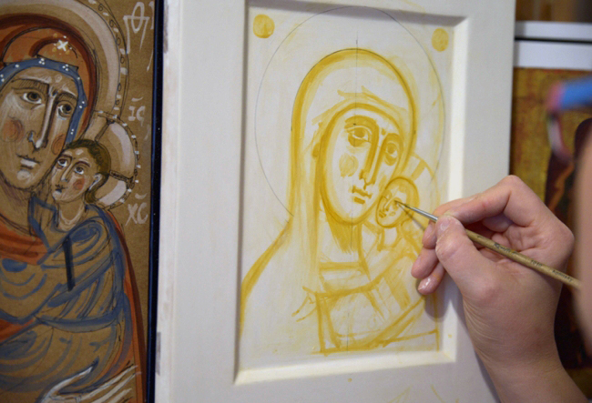 Exhibition of icons and other spiritual images in ACU, Melbourne