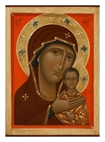 Icon of the Mother of God Petrovskaya. 2014  by Olga Shalamova