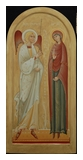 Icon of Annunciation 2013  by Olga Shalamova