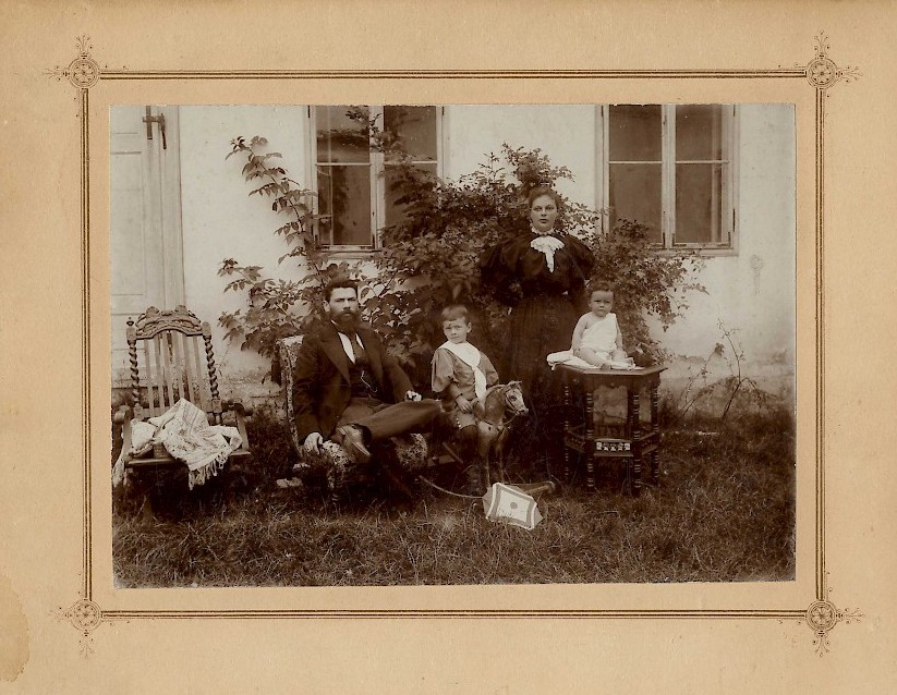 Familie Kramer 1897 in Niederhollabrunn. © Archiv der TKG