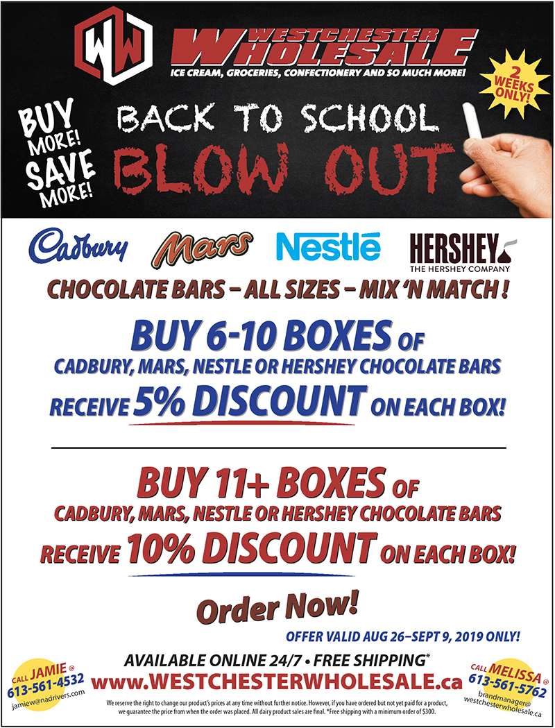 Back to School Blow Out