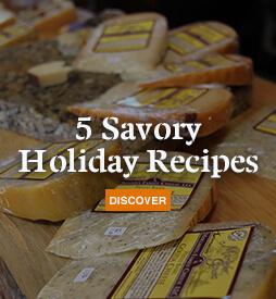 5 Savory Holiday Recipes