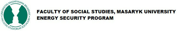FACULTY OF SOCIAL STUDIES, MASARYK UNIVERSITY - ENERGY SECURITY PROGRAM