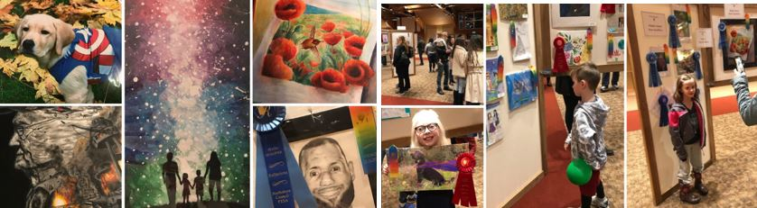 collage of images from the Reflections Celebration 2019