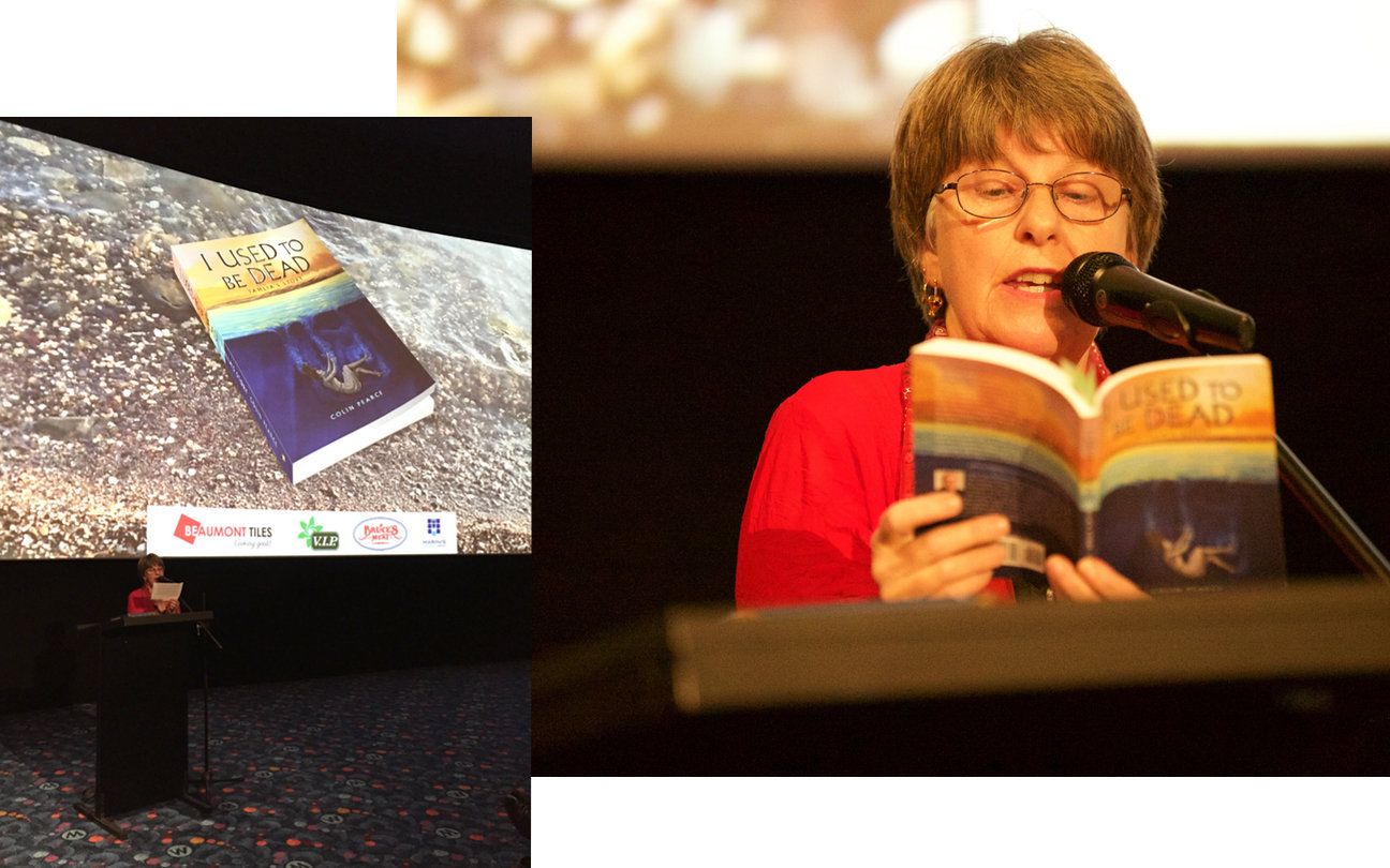 Dr Rosanne Hawke launches Colin Pearce's New Book, I used to be dead